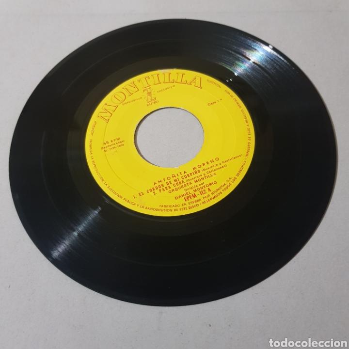 Discos de vinilo: ANTOÑITA MORENO - ORQUESTA MONTILLA - Foto 4 - 195343326