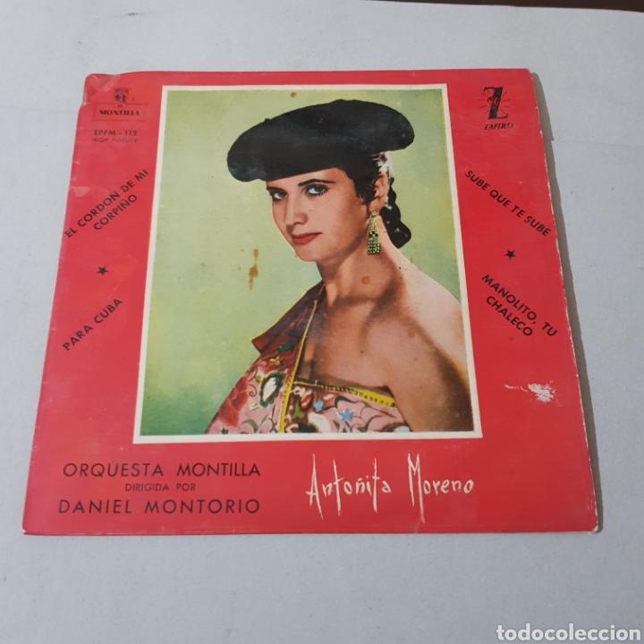 Discos de vinilo: ANTOÑITA MORENO - ORQUESTA MONTILLA - Foto 5 - 195343326