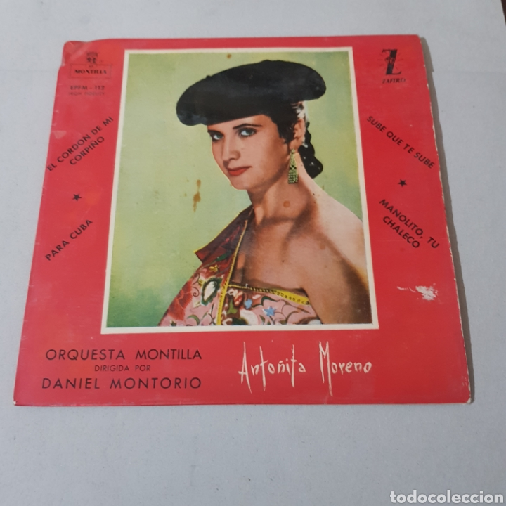 ANTOÑITA MORENO - ORQUESTA MONTILLA (Música - Discos - Singles Vinilo - Flamenco, Canción española y Cuplé)