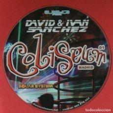 Discos de vinilo: ELASTICA PRESENTS DAVID SANCHEZ (5) & IVAN SANCHEZ - COLISEUM MADRID 01. Lote 195343581