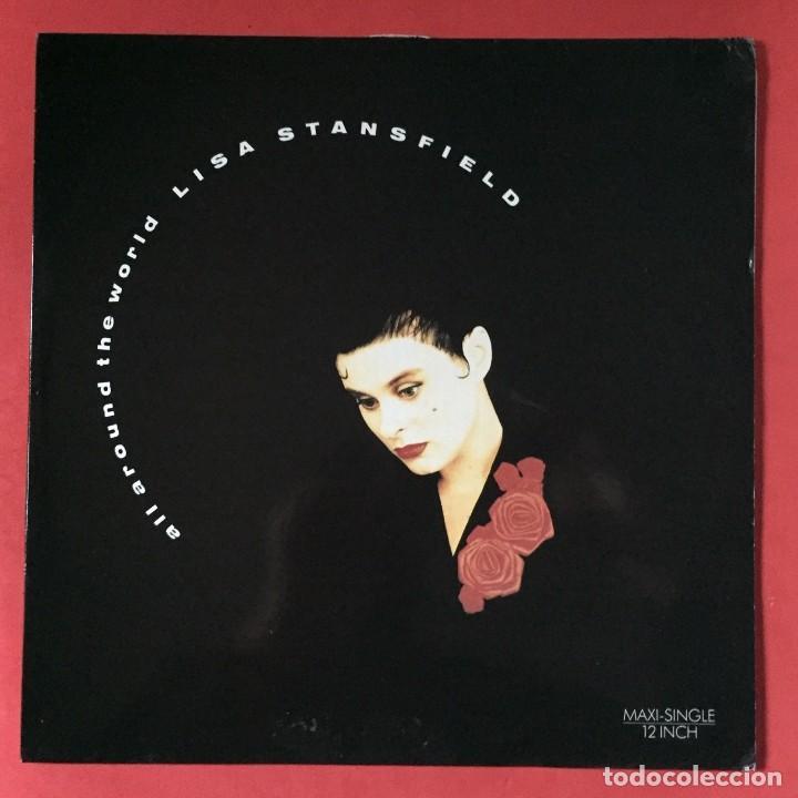 LISA STANSFIELD - ALL AROUND THE WORLD (Música - Discos de Vinilo - Maxi Singles - Disco y Dance)