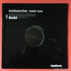 Discos de vinilo: SOULSEARCHER - FEELIN' LOVE. Lote 195344011
