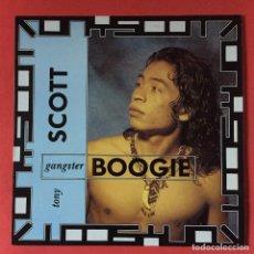 Discos de vinilo: TONY SCOTT - GANGSTER BOOGIE. Lote 195344287