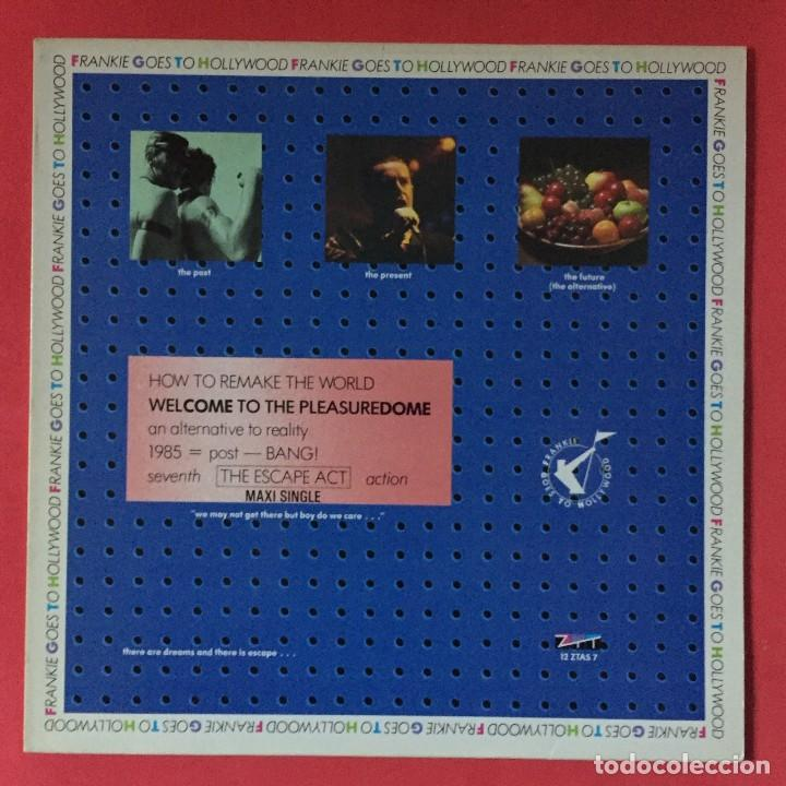 FRANKIE GOES TO HOLLYWOOD - WELCOME TO THE PLEASUREDOME (Música - Discos de Vinilo - Maxi Singles - Disco y Dance)