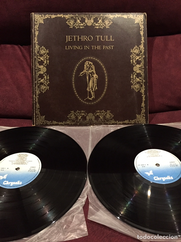 JETHRO TULL - LIVING IN THE PAST, LP DOBLE GATEFOLD, REEDICIÓN, RECOPILATORIO, 1982, ESPAÑA (Música - Discos - LP Vinilo - Pop - Rock - Extranjero de los 70)