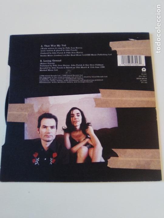 Discos de vinilo: PJ HARVEY & JOHN PARISH That was my veil / Losing ground ( 1996 ISLAND UK ) P.J. EXCELENTE ESTADO - Foto 2 - 195347208