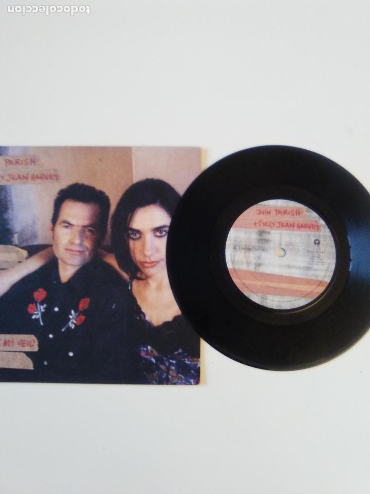 Discos de vinilo: PJ HARVEY & JOHN PARISH That was my veil / Losing ground ( 1996 ISLAND UK ) P.J. EXCELENTE ESTADO - Foto 3 - 195347208