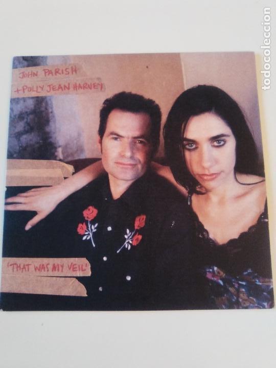 PJ HARVEY & JOHN PARISH THAT WAS MY VEIL / LOSING GROUND ( 1996 ISLAND UK ) P.J. EXCELENTE ESTADO (Música - Discos - Singles Vinilo - Pop - Rock Extranjero de los 90 a la actualidad)