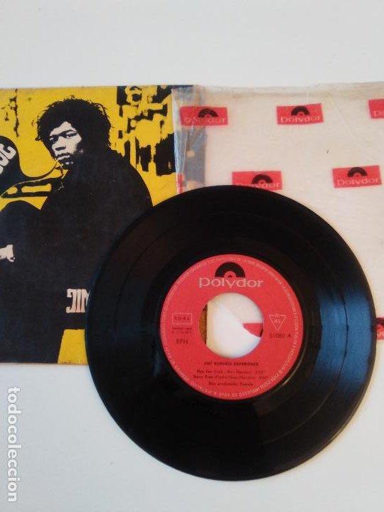 Discos de vinilo: JIMI HENDRIX Hey Joe Stone Free Purple haze 51 Anniversary ( 1967 POLYDOR ESPAÑA ) - Foto 3 - 195347357