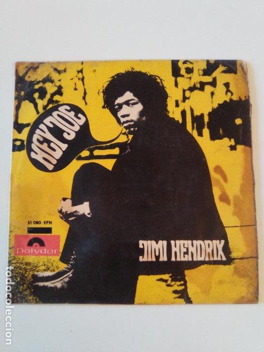 JIMI HENDRIX HEY JOE STONE FREE PURPLE HAZE 51 ANNIVERSARY ( 1967 POLYDOR ESPAÑA ) (Música - Discos de Vinilo - EPs - Pop - Rock Extranjero de los 50 y 60)