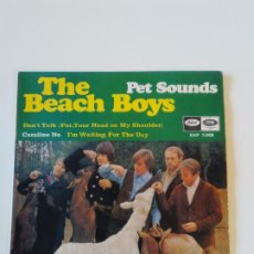 Discos de vinilo: THE BEACH BOYS PET SOUNDS CAROLINE NO DONT TALK IM WAITING FOR THE DAY ( 1967 EMI CAPITOL ESPAÑA ). Lote 195347423