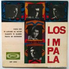 Discos de vinilo: LOS IMPALA. CADA VEZ/ TE LLEVARÉ AL ALTAR/ CUÁNTO TE QUIERO/ TRATA DE ENTENDER. SONOPLAY, SPAIN 1966. Lote 195356902