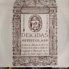 Discos de vinilo: DEICIDAS - EPISTOLAS - LP 1993 ARTESANIAS MUSICALES. Lote 195357731