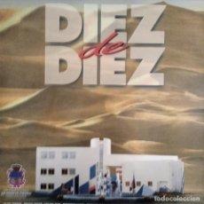 Discos de vinilo: DIEZ DE DIEZ, GRUPOS LEON: BRUTOS SEKOS, OPERA PRIMA, TERREMOTORS... - LP 1993 ARTESANIAS MUSICALES. Lote 195357901