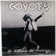 Discos de vinilo: LOS COYOTES. LA ESTACIÓN DEL AMOR/ EL HIJO DEL ROCKER. DRO-3 CIPRESES, SPAIN 1987 SINGLE PROMO . Lote 195359347
