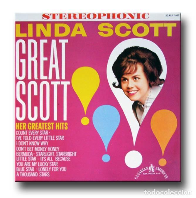 LINDA SCOTT - GREAT SCOTT (Música - Discos - LP Vinilo - Pop - Rock Extranjero de los 50 y 60)