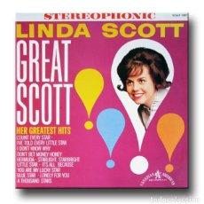 Discos de vinilo: LINDA SCOTT - GREAT SCOTT. Lote 195362731