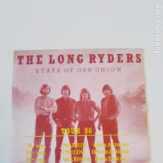 Discos de vinilo: THE LONG RYDERS LOOKING FOR LEWIS AND CLARK + 3 ( 1986 ARIOLA ESPAÑA ). Lote 195363098