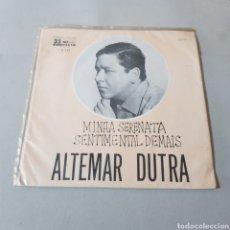 Discos de vinilo: ALTEMAR DUTRA - MINHA SERENATA - ODEON. Lote 195363608
