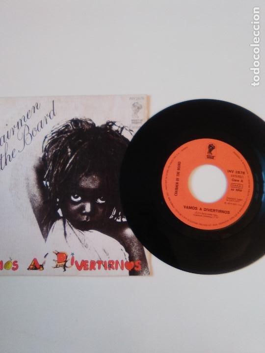 Discos de vinilo: CHAIRMEN OF THE BOARD Vamos a divertirnos ( 1975 INVICTUS CBS ESPAÑA ) - Foto 3 - 195363621
