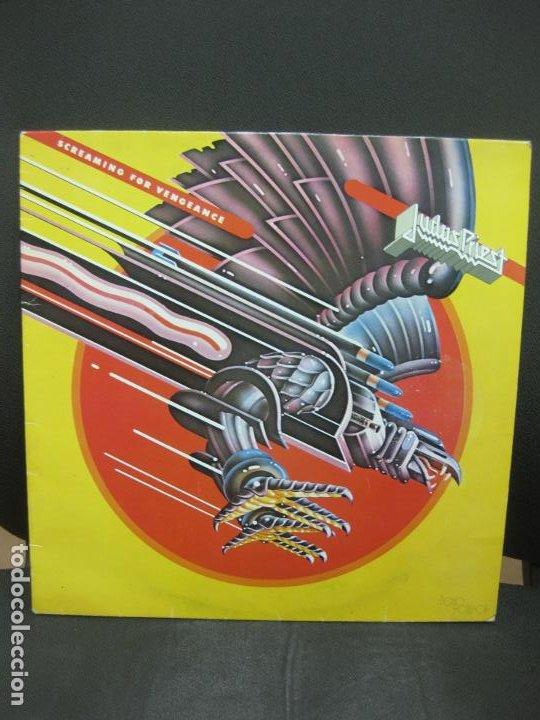 JUDAS PRIEST. SCREAMING FOR VENGEANCE. LP 1986. EN PERFECTO ESTADO. (Música - Discos - LP Vinilo - Heavy - Metal)