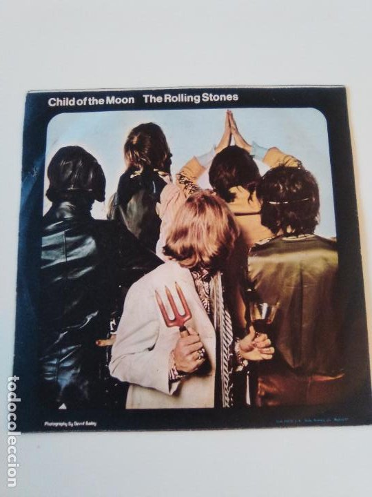 Discos de vinilo: THE ROLLING STONES Jumpin Jack Flash / Child of the moon ( 1969 DECCA ESPAÑA ) - Foto 2 - 195363798