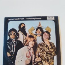 Discos de vinilo: THE ROLLING STONES JUMPIN JACK FLASH / CHILD OF THE MOON ( 1969 DECCA ESPAÑA ). Lote 195363798