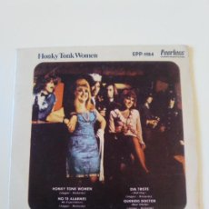 Discos de vinilo: THE ROLLING STONES HONKY TONK WOMEN + 3 ( 1969 PEERLESS LONDON MEXICO . Lote 195363888