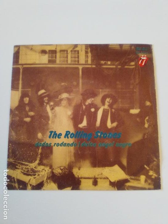 THE ROLLING STONES DADOS RODANDO TUMBLIN DICE / SWEET BLACK ANGEL ( 1972 ROLLING STONES RECORDS SP ) (Música - Discos - Singles Vinilo - Pop - Rock - Extranjero de los 70)