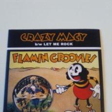 Discos de vinilo: FLAMIN GROOVIES CRAZY MACY / LET ME ROCK ( 2016 OTIS RECORDINGS USA ). Lote 195364340