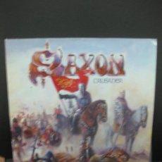 Discos de vinilo: SAXON. CRUSADER. LP 1984.. Lote 195364772