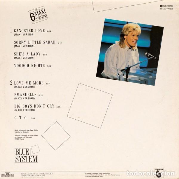 Discos de vinilo: Blue System – Walking On A Rainbow - LP SPAIN 1987 - Foto 2 - 195365533