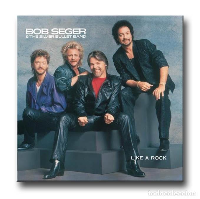 BOB SEGER - LIKE A ROCK (Música - Discos - LP Vinilo - Pop - Rock - New Wave Extranjero de los 80)