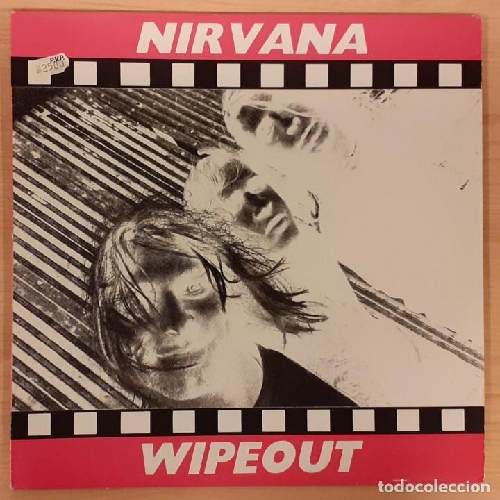 NIRVANA WIPEOUT NO OFICIAL 1991 (RARO) (Música - Discos - LP Vinilo - Pop - Rock Extranjero de los 90 a la actualidad)