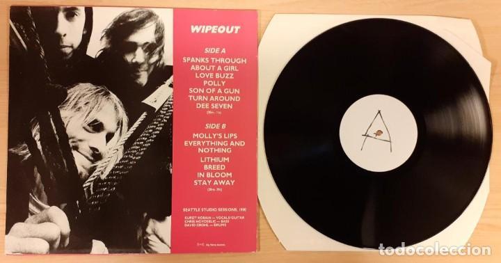 Discos de vinilo: NIRVANA WIPEOUT NO OFICIAL 1991 (RARO) - Foto 2 - 195366443