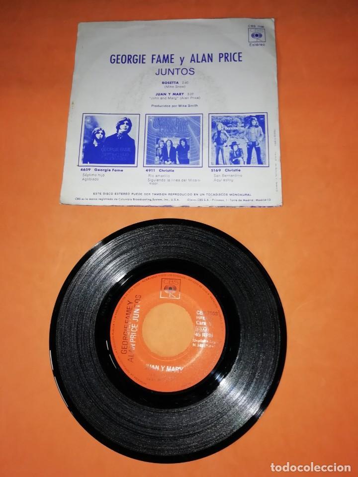 Discos de vinilo: GEORGIE FAME Y ALAN PRICE JUNTOS. ROSETTA. CBS 1971 - Foto 2 - 195366950
