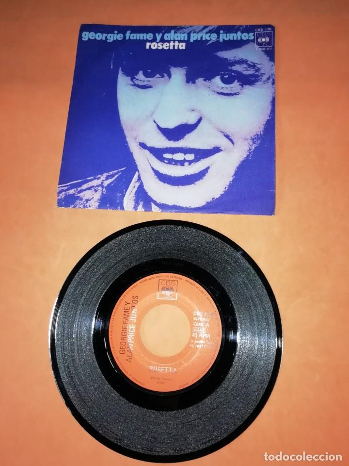 GEORGIE FAME Y ALAN PRICE JUNTOS. ROSETTA. CBS 1971 (Música - Discos - Singles Vinilo - Pop - Rock - Extranjero de los 70)