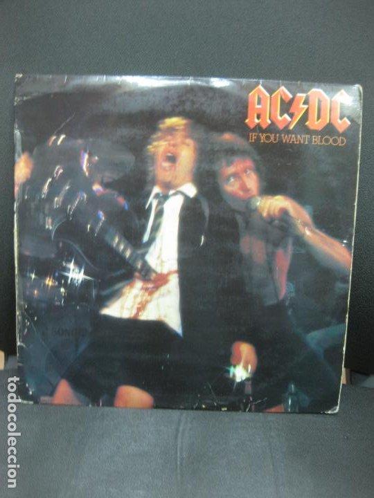 AC/DC. IF YOU WANT BLOOD. LP 1979. (Música - Discos - LP Vinilo - Heavy - Metal)