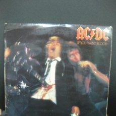Discos de vinilo: AC/DC. IF YOU WANT BLOOD. LP 1979.. Lote 195366968
