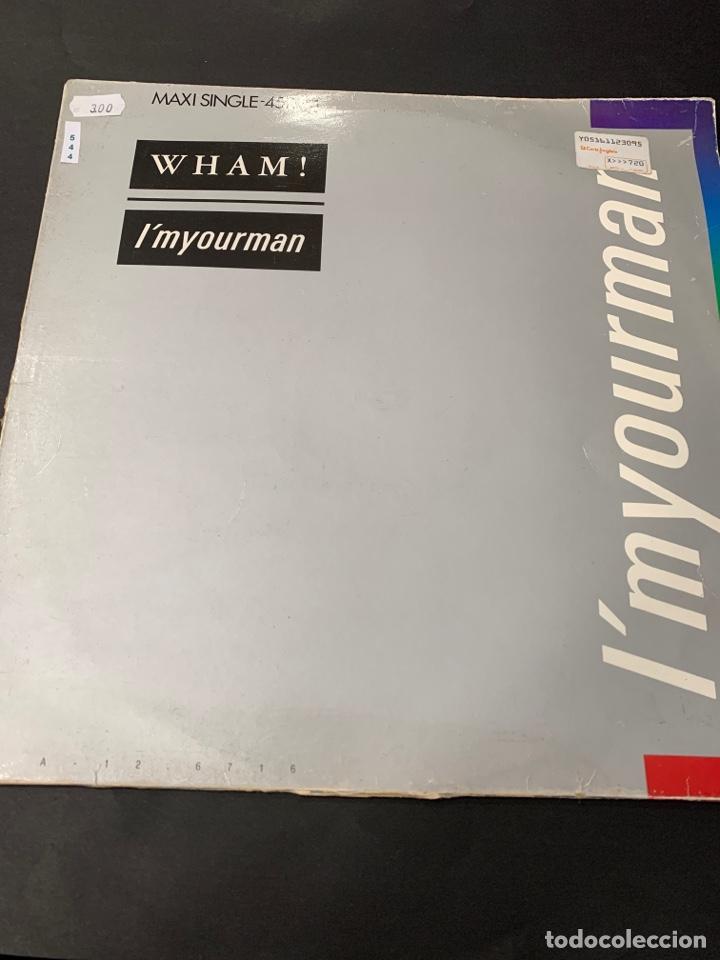 (VIN544) WHAM IMYOURMAN ( VINILO SEGUNDA MANO ) (Música - Discos - LP Vinilo - Otros estilos)