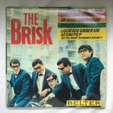 Discos de vinilo: THE BRISK – TWIST AND SHOUT 1964_ TWIST AND SHOUT. Lote 195367537