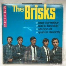 Discos de vinilo: THE BRISK – OSO CORREDOR 1966 THE BRILSKS. Lote 195367728