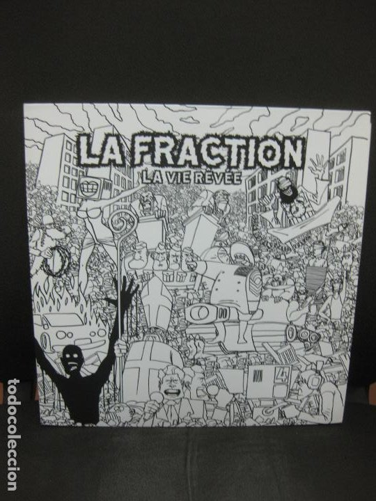 LA FRACTION. LA VIE REVÉE. LP TOTALMENTE NUEVO. (Música - Discos - LP Vinilo - Pop - Rock Extranjero de los 90 a la actualidad)