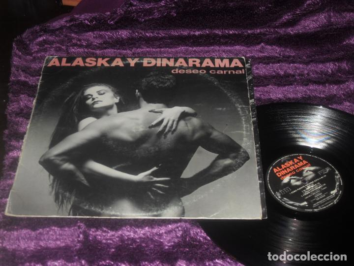 Discos de vinilo: ALASKA Y DINARAMA LP. DESEO CARNAL. MADE IN SPAIN. 1984. - Foto 1 - 195368495