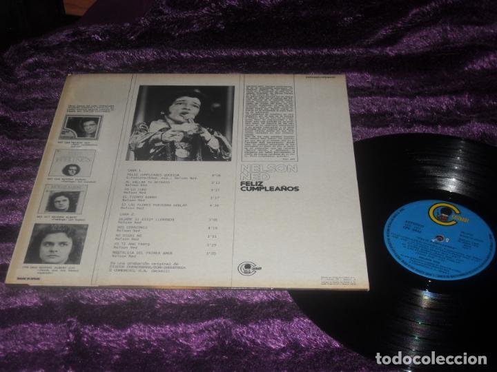 Discos de vinilo: NELSON NED LP. FELIZ CUMPLEAÑOS MADE IN SPAIN. 1975. - Foto 3 - 195369133