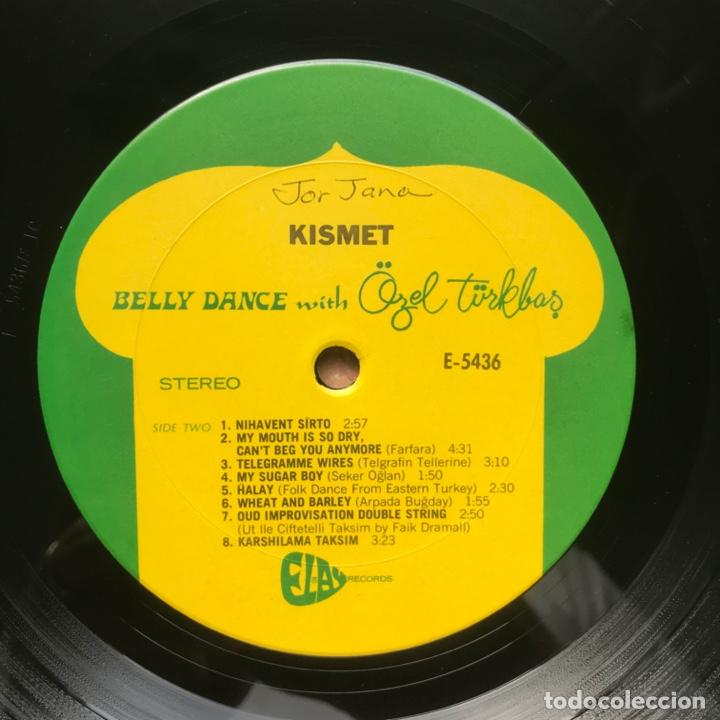 Discos de vinilo: Özel Türkbas ‎– Kismet Belly Dance with Özel 1978 US - Foto 3 - 195370051