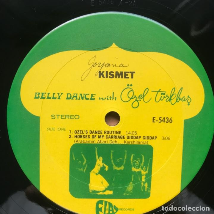 Discos de vinilo: Özel Türkbas ‎– Kismet Belly Dance with Özel 1978 US - Foto 5 - 195370051