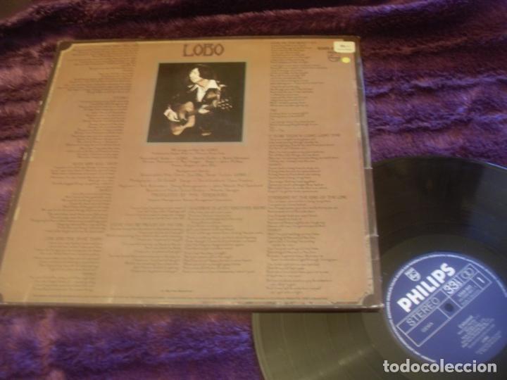 Discos de vinilo: LOBO LP. CALUMET MADE IN GERMANY. - Foto 2 - 195371002