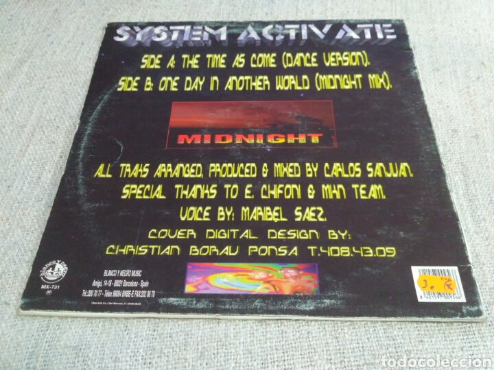 Discos de vinilo: System Activate - The Time As Come - Foto 2 - 195372083