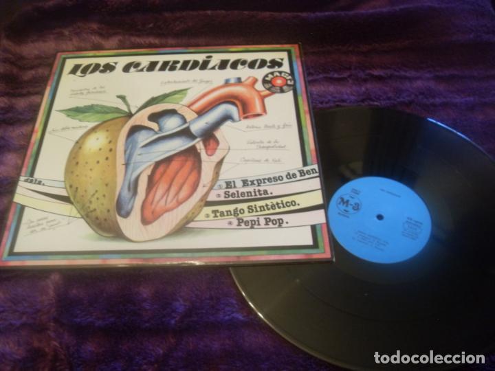 LOS CARDIACOS MAXI SINGLE. EL EXPRESO DE BENGALA MADE IN SPAIN. 1982 (Música - Discos de Vinilo - Maxi Singles - Grupos Españoles de los 70 y 80)